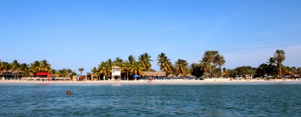 Playa la Punta Isla de coche