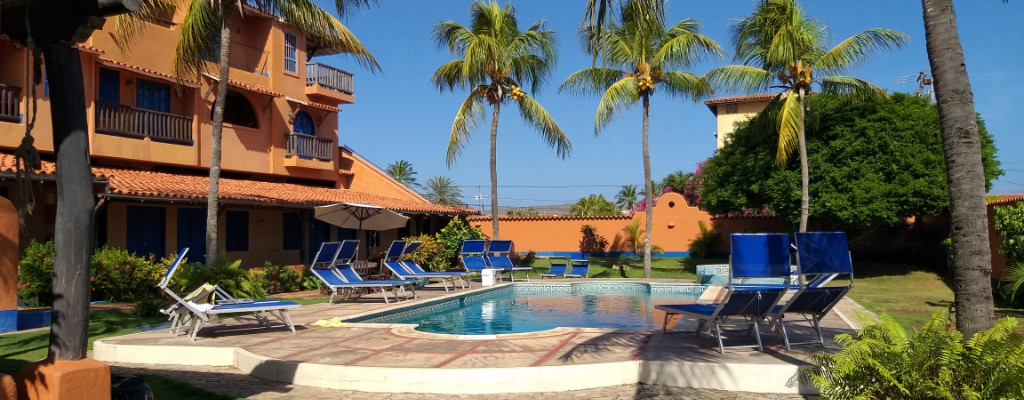 Area de piscina