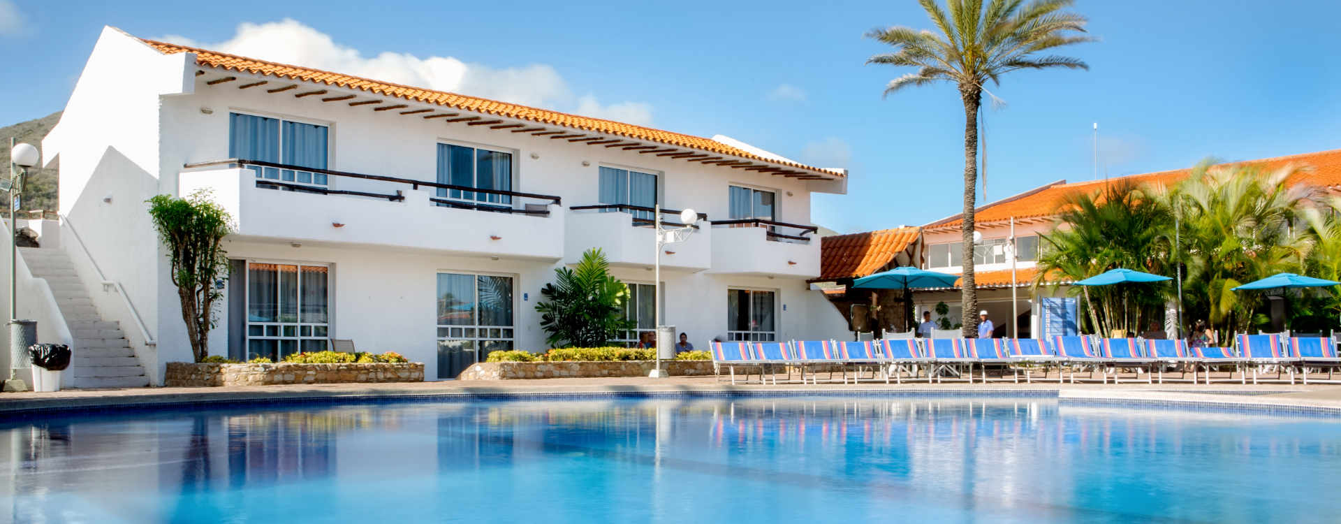Hotel Palm Beach Piscina