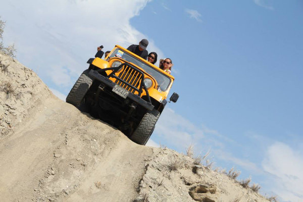 Jeep Safari (Vehiculo abierto)